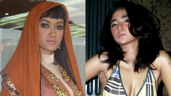 Julia Perez - Dewi Persik (Foto: Okezone)