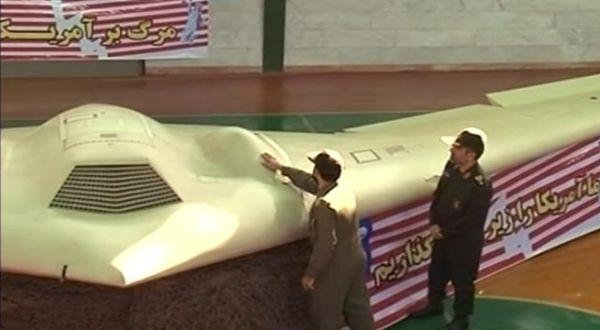 Pesawat Tanpa Awak AS yang Ditembak Jatuh Milliter Iran (Foto: z6mag)