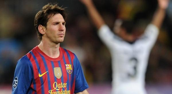Ratapan Luka Lionel Messi akibat Barca gagal lolos ke final Liga Champions (foto: Getty Images)