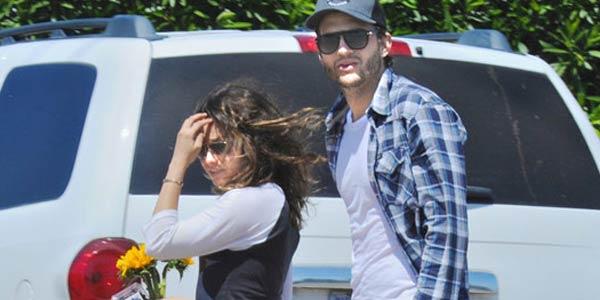 Mila Kunis & Asthon Kutcher (Foto: TMZ)