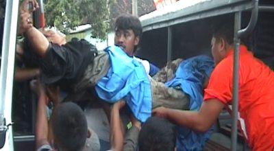 Ilustrasi kecelakaan bus (Dok: Sindo TV)