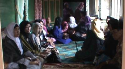 Suasana duka di rumah Ali Imran di Agam (Dok: Sindo TV/Wahyu Sikumbang)