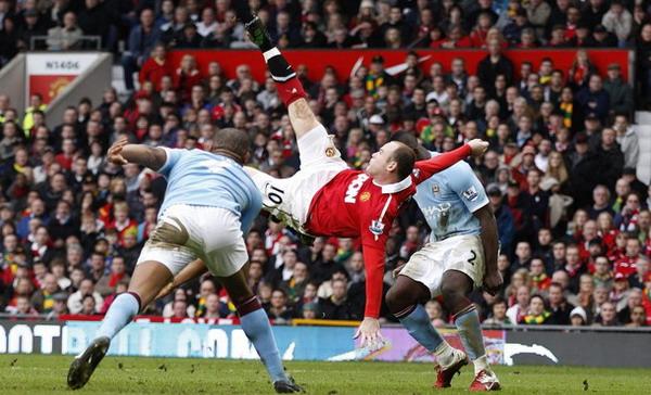 Wayne Rooney Menangi Gol Terbaik Sepanjang 20 Musim Premier League