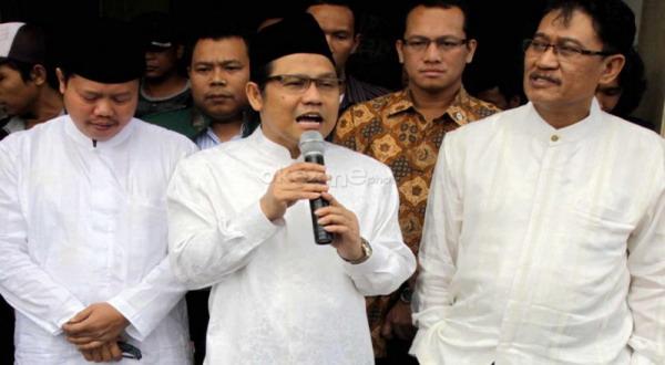 Ketua Umum PKB Muhaimin Iskandar (Heru Haryono/okezone)