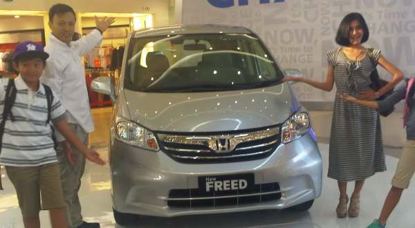 F: Honda New Freed (Aditya M/Okezone)