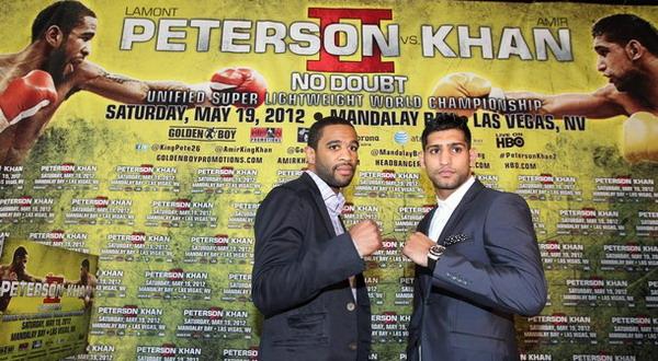 Amir Khan (kanan) gagal melakukan balas dendam terhadap Lamont Paterson/Getty Images