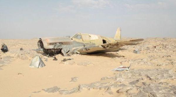 Pesawat Inggris yang hilang (Foto: Mirror)