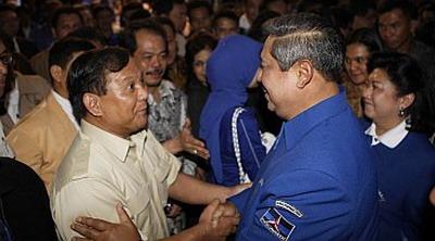 Ilustrasi: Prabowo dan SBY (Foto: Abror Rizki)