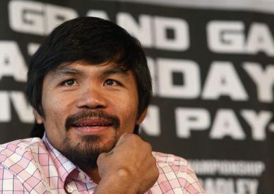 Manny Pacman. (foto: Reuters)