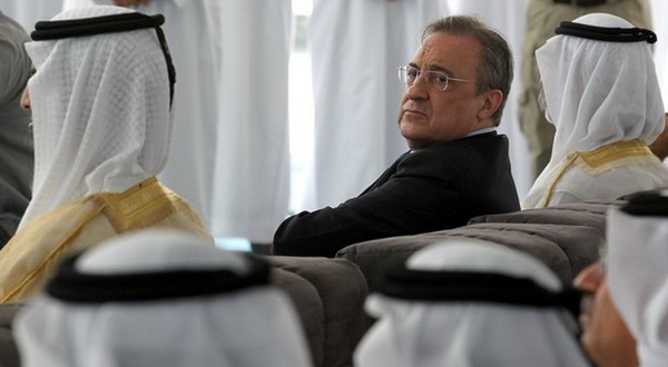 Presiden klub Real Madrid, Florentino Perez (Foto: Getty Images)