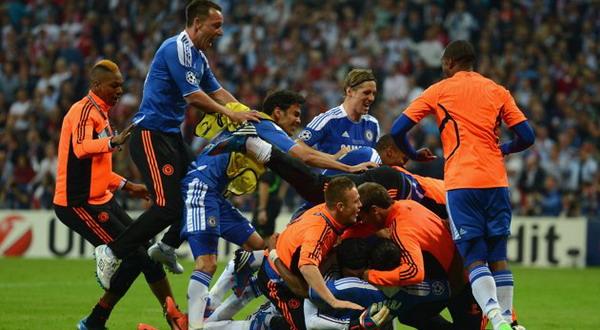 Chelsea akhirnya juara Liga Champions (foto:Getty Images)