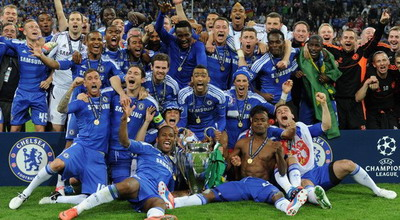 Chelsea Juara Liga Champions di Allianz Arena (foto: Getty Images)