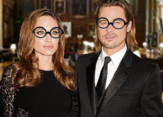 Brad Pitt dan Angelina Jolie (foto: The Sun)