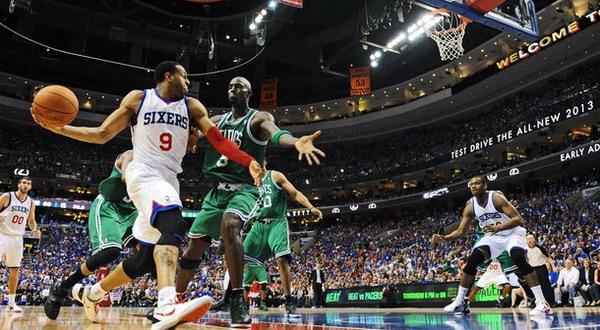 Laga Boston Celtics versus Philadelphia 76ers akan ditentukan di game ketujuh pada Minggu (27/5) lusa/Getty Images