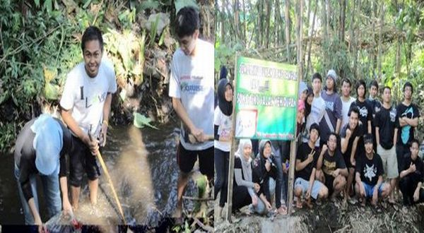 M Asary dari UB menawarkan solusi mengatasi limbah kelapa sawit. (Foto: dok. UB)