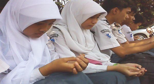 Ilustrasi: pelajar SMA. (Foto: Iman H/okezone)