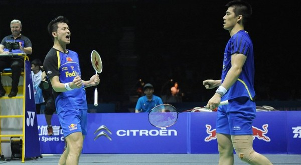Cai Yun/Fu Haifeng (Foto: Getty Images)