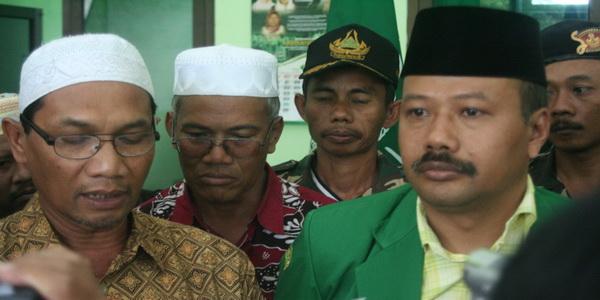 Ketua GP Ansor Jawa Timur Alfa Isnaini (Foto: Dok Sindo)