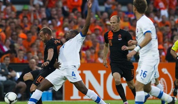 Uji coba Belanda vs Slovakia