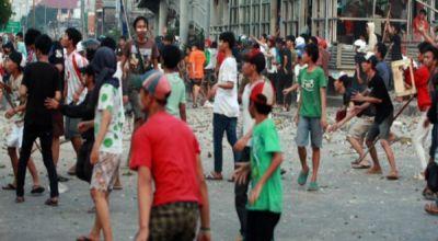 Ilustrasi tawuran, tawuran di Jakarta (Foto: Heru H/okezone)
