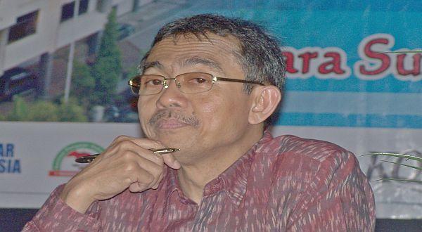 Foto : Ketua KY Eman Suparman(Bramantyo-okezone)