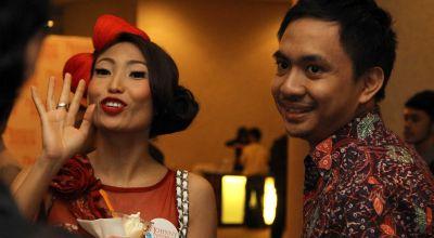 [imagetag] Ayu Dewi & Reggie Datau (Foto: Rama N)