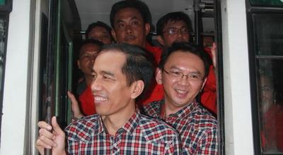 Jokowi-Ahok (Foto: Heru/Okezone)
