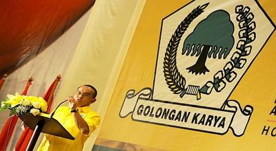 Ketua Umum Partai Golkar Aburizal Bakrie (dok. Koran Sindo)