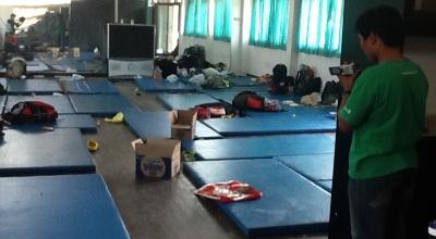 Ruang penampungan imigran kosong ditinggal (Foto: Koran SI/Abdul Rouf)