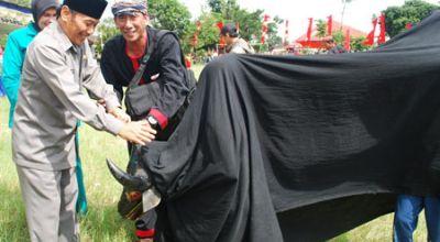 Ilustrasi bantengan (Foto: mojokertokab.go.id)