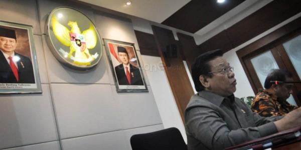 Menko Kesra Agung Laksono (Foto: Runi/Okezone)