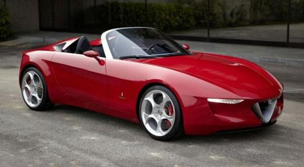 F : Alfa Romeo Alfa Romeo Spider (Inautonews)