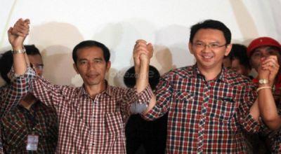 Jokowi-Ahok (Foto: Dok. Okezone)