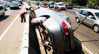 Ilustrasi Kecelakaan (Foto: Okezone)