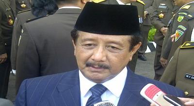 Jaksa Agung Basrief Arief (Foto: Putra Mandar/Okezone)