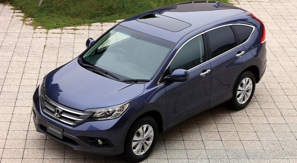 F : Honda CR-V (autoevolution)