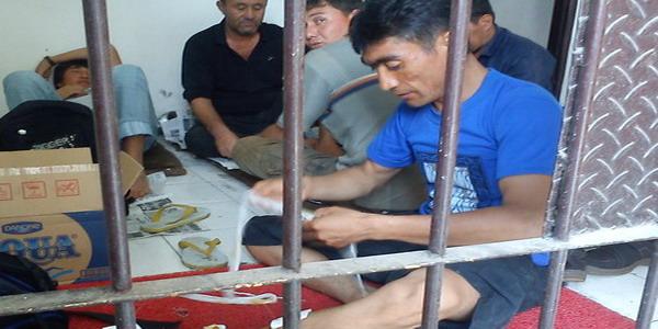 Imigran di Kantor Imigrasi Malang (foto: Hari Istiawan/Okezone)