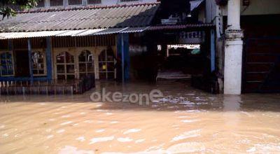 Ilustrasi banjir (Foto: Okezone)