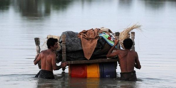 Ilustrasi korban banjir
