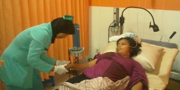 Ilustrasi pasien dirawat di rumah sakit (foto: Irwansyah Nst/ Okezone)