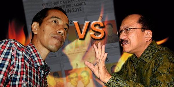 Jokowi vs Foke (Foto: okezone)
