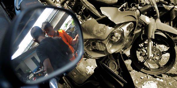 Ilustrasi pencurian motor (Foto: Agung/okezone)