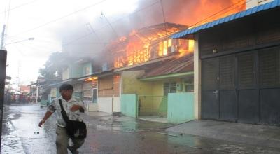 Ilustrasi kebakaran (Foto: Okezone/Irwansyah Putra)