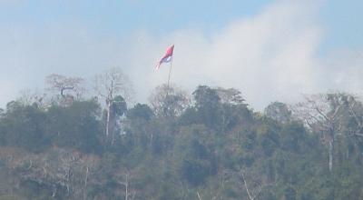 Bendara Merah Putih di Kefamenanu (Dok: Sindo TV/Sefnat Besie)