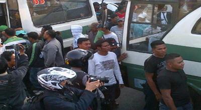 Lokasi Bentrok Pemuda di Cengkareng (Foto: Fahmi Firdaus/ Okezone)