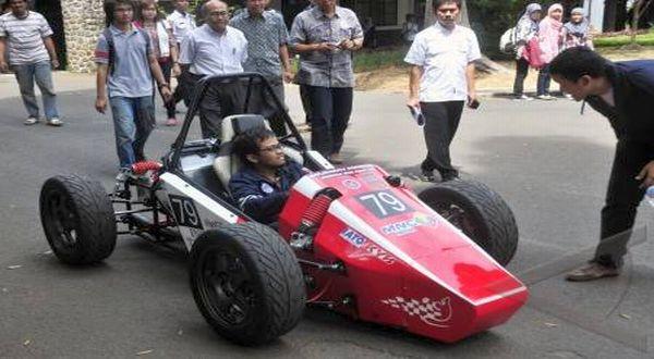 Mobil formula Mushika One buatan tim ITB. (Foto: dok. ITB)