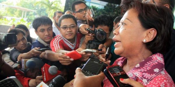 Sekjen DPR Nining Indra Saleh (Foto: Heru/Okezone)