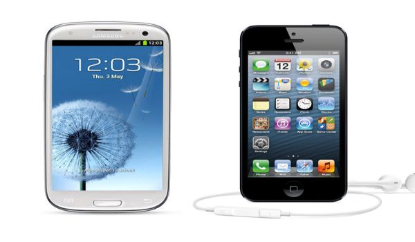 Ini Perbandingan iPhone 5 & Samsung Galaxy S III