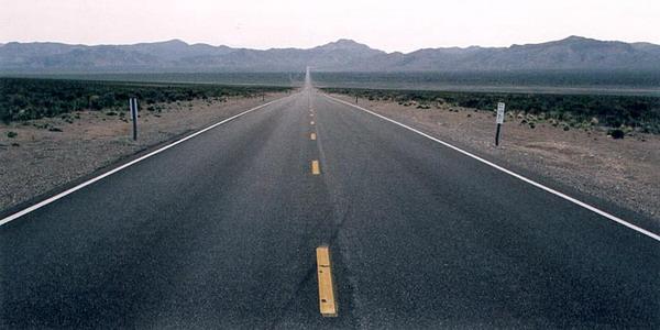 Ilustrasi jalan raya