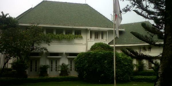 Rumah Dinas Foke di Taman Suropati (Foto: Tri Kurniawan/Okezone)